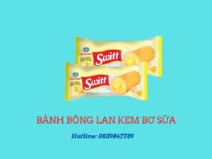 Bánh bông lan kem bơ sữa switt