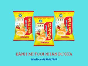 Bánh mì tươi nhân bơ sữa 87 g