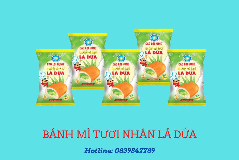Bánh mì tươi nhân lá dứa 27 g