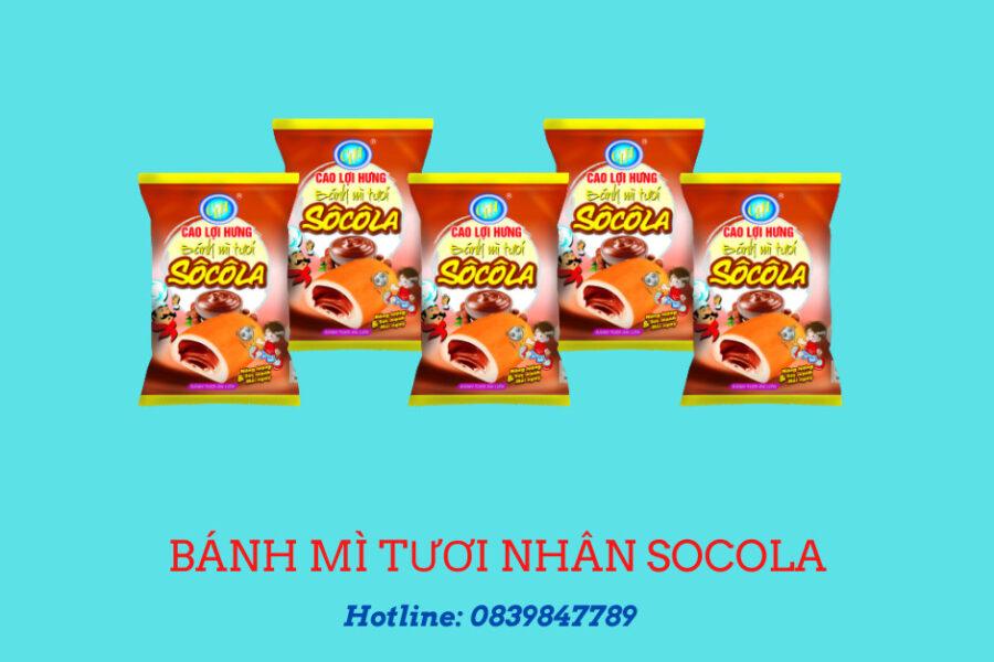 Bánh mì tươi nhân sôcôla 27 g