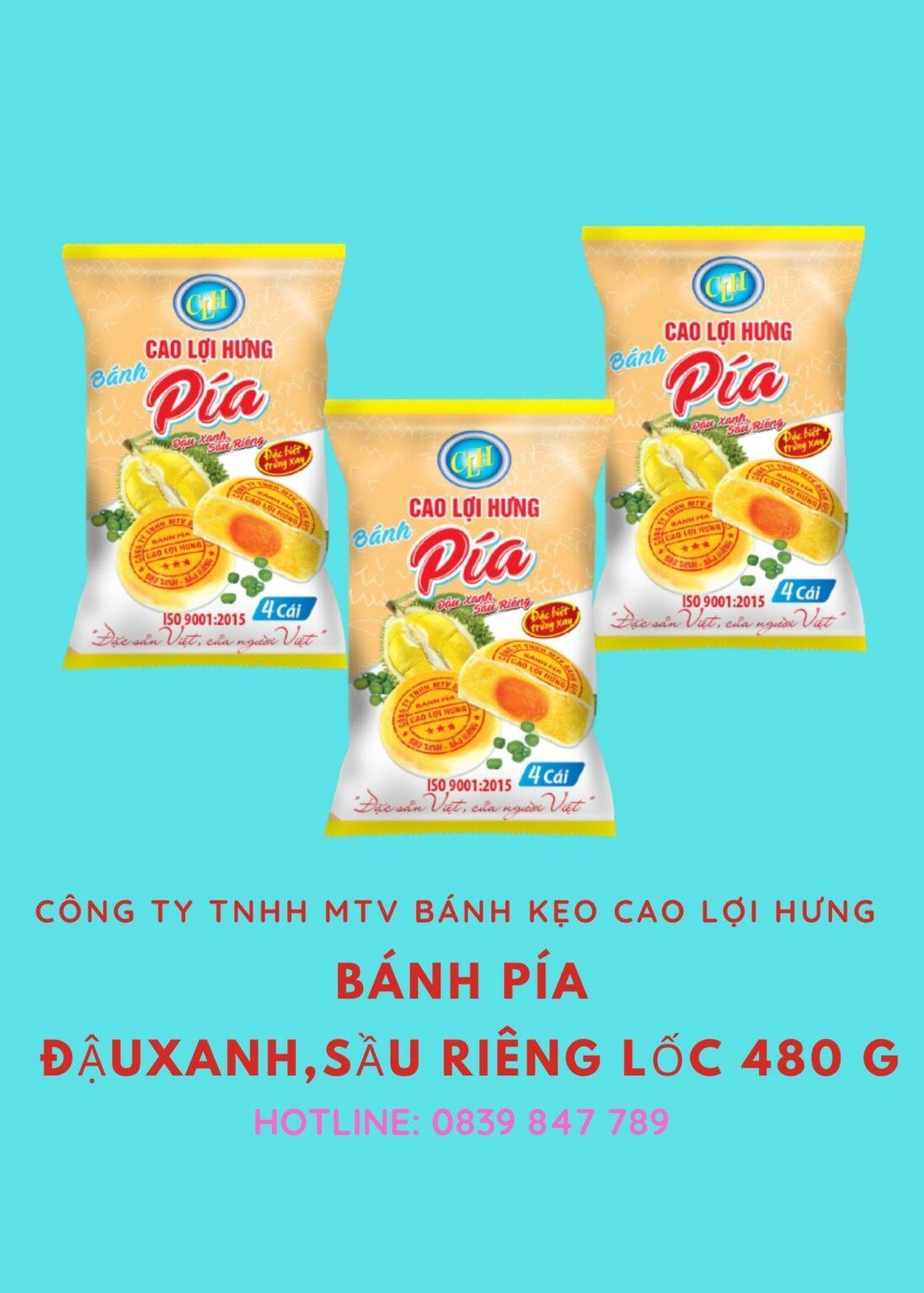 banh pia Cao Loi Hung 480 g