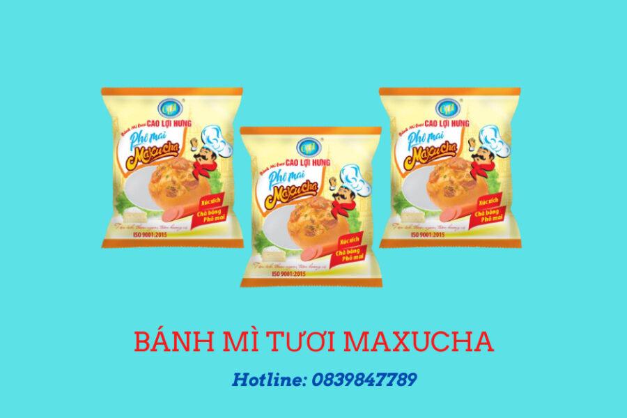 Bánh mì tươi phô mai maxucha